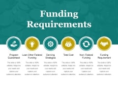 Funding Requirements Ppt PowerPoint Presentation Visuals