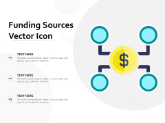 Funding Sources Vector Icon Ppt PowerPoint Presentation Gallery Layouts PDF
