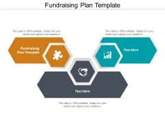 Fundraising Plan Template Ppt PowerPoint Presentation Gallery Deck Cpb