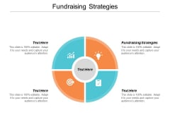 Fundraising Strategies Ppt PowerPoint Presentation Inspiration Show Cpb