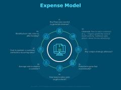Funds For Startups Expense Model Ppt Model Files PDF