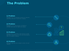 Funds For Startups The Problem Ppt Inspiration Designs PDF