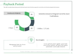 Funds Requisite Evaluation Payback Period Guidelines PDF