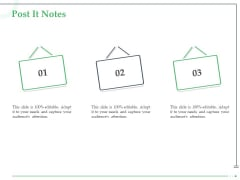 Funds Requisite Evaluation Post It Notes Sample PDF
