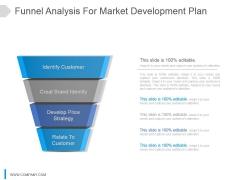 Funnel Analysis For Market Development Plan Ppt Slide