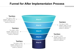 Funnel For After Implementaion Process Ppt PowerPoint Presentation File Graphics Template PDF