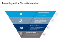 Funnel Layout For Phase Gate Analysis Ppt PowerPoint Presentation Professional Visuals