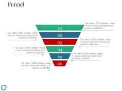 Funnel Template 4 Ppt PowerPoint Presentation Model Professional