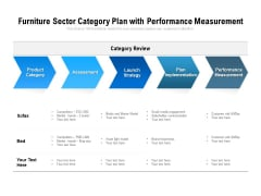 Furniture Sector Category Plan With Performance Measurement Ppt PowerPoint Presentation File Images PDF