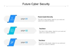 Future Cyber Security Ppt PowerPoint Presentation Show Slides Cpb
