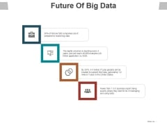 Future Of Big Data Ppt PowerPoint Presentation Styles Graphics Design