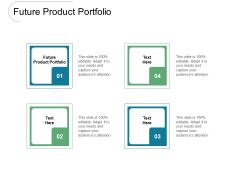 Future Product Portfolio Ppt PowerPoint Presentation Slides Layout Cpb Pdf