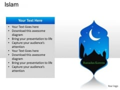 Faith Islam PowerPoint Slides And Ppt Diagram Templates