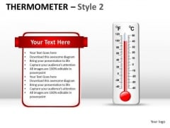 Farenheit Thermometer PowerPoint Slides And Ppt Diagram Templates