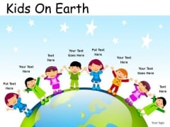 Fashion Kids On Earth PowerPoint Slides And Ppt Diagram Templates