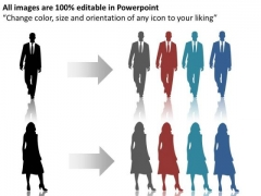 Fashion Race Person Running PowerPoint Slides And Ppt Diagram Templates