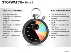 Fashion Stopwatch 2 PowerPoint Slides And Ppt Diagram Templates
