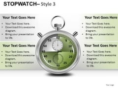 Fashion Stopwatch 3 PowerPoint Slides And Ppt Diagram Templates