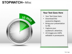 Fashion Stopwatch Misc PowerPoint Slides And Ppt Diagram Templates