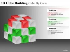 Final Piece 3d Blocks PowerPoint Templates