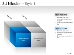 Finance 3d Blocks 1 PowerPoint Slides And Ppt Diagram Templates