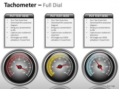 Finance Tachometer Full Dial PowerPoint Slides And Ppt Diagram Templates