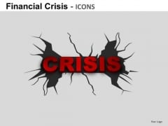 Financial Crisis Icons Ppt 5