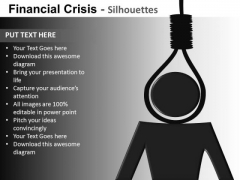 Financial Crisis Suicide PowerPoint Templates Editable Ppt Slides