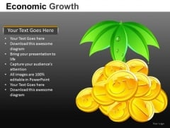 Financial Investment Growth PowerPoint Templates