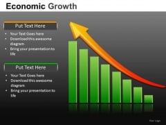 Financial Revenue Growth PowerPoint Templates
