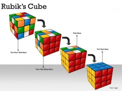 Find Solution Rubiks Cube PowerPoint Slides And Ppt Diagrams Ppt Templates