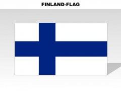 Finland Country PowerPoint Flags