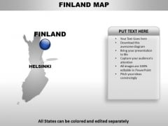 Finland Country PowerPoint Maps