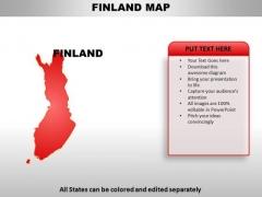 Finland PowerPoint Maps