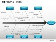Fishbone Chart PowerPoint Templates