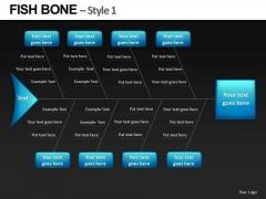 Fishbone Diagram PowerPoint Slides
