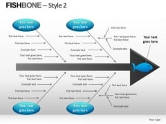 Fishbone Diagram Templates For PowerPoint Ppt