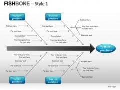 Fishbone Diagrams PowerPoint Templates