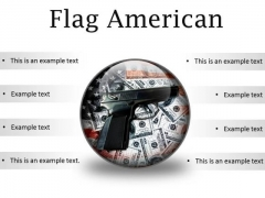 Flag American Security PowerPoint Presentation Slides C