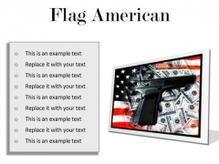 Flag American Security PowerPoint Presentation Slides F