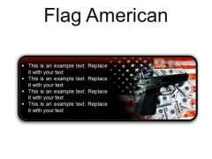 Flag American Security PowerPoint Presentation Slides R