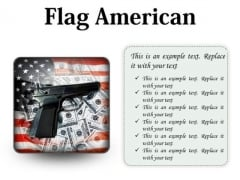 Flag American Security PowerPoint Presentation Slides S