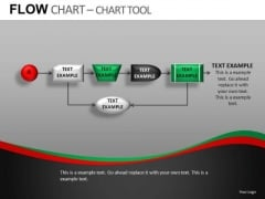 Flow Chart Process Loop PowerPoint Slides