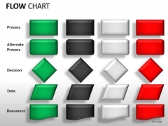 Flow Chart Symbols Icons For PowerPoint