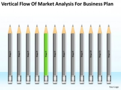 Flow Of Market Analysis For Business Plan Ppt Plans Free Templates PowerPoint