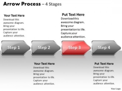 Flow Ppt Arrow Process 4 State Diagram Style 1 Communication Skills PowerPoint Image