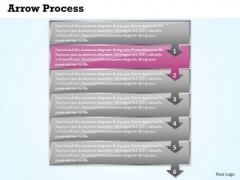 Flow Ppt Arrow Process 6 Stages Business Communication PowerPoint 3 Image