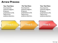 Flow Ppt Background Arrow Process 3 Stages Style 1 Business Management PowerPoint Image