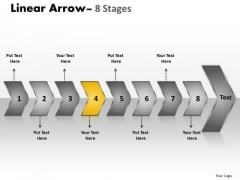 Flow Ppt Chronological Description Of 8 Arrows Time Management PowerPoint 5 Design
