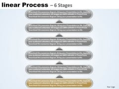 Flow Ppt Linear Process 6 Power Point Stage Operations Management PowerPoint 2 Graphic